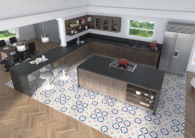 Cocina Berna Vista Detalle Picado Previo 16-02-2018